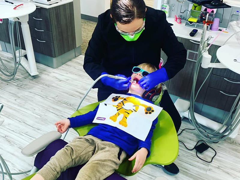 Teeth Whitening at Treehouse Kids Dentist in Springfield, Oregon